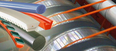 Polyurethane and polyester belts