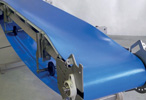 Troughed conveyor belt