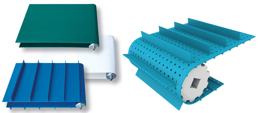 Thermoweldable conveyor belts