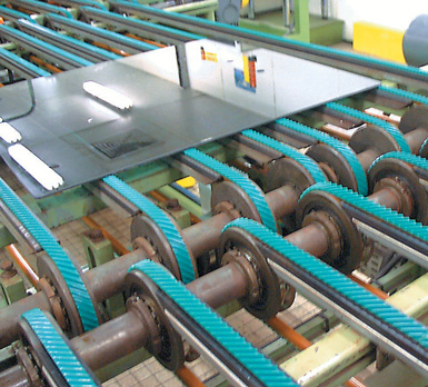 belt glass industry