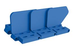 Ränder und Seitenteile für Modulbänder