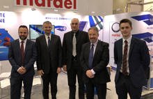 Mafdel team at Hannover Messe 2018