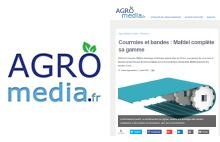 Le site internet Agro-Média publie un article sur les bandes à entraînement positif MAFDEL