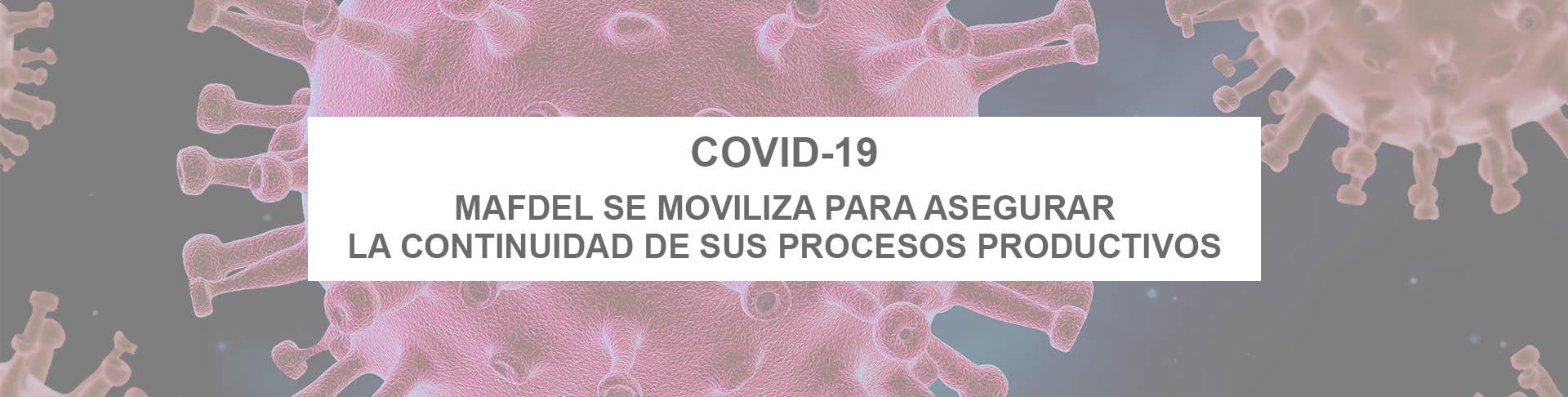 COVID-19 : MAFDEL se moviliza